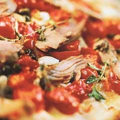 Tuna fish and onions Pizza